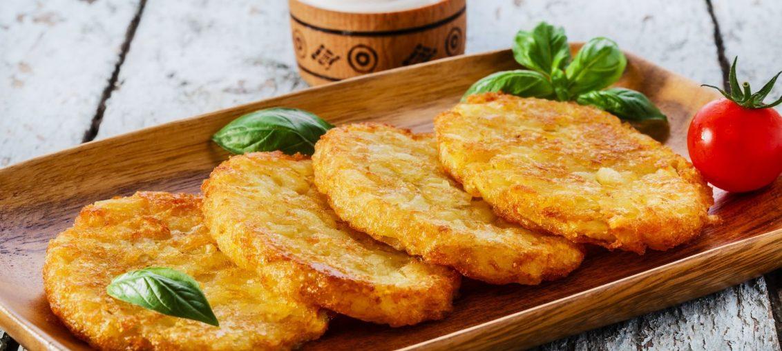 картофельные пышки