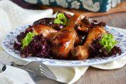курица с баклажинами